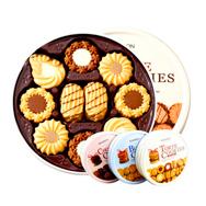 曲奇饼干 什锦巧克力味饼干 浓浓牛 油香味